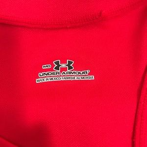Under Armour Tops - Under Armour red muscle tank top